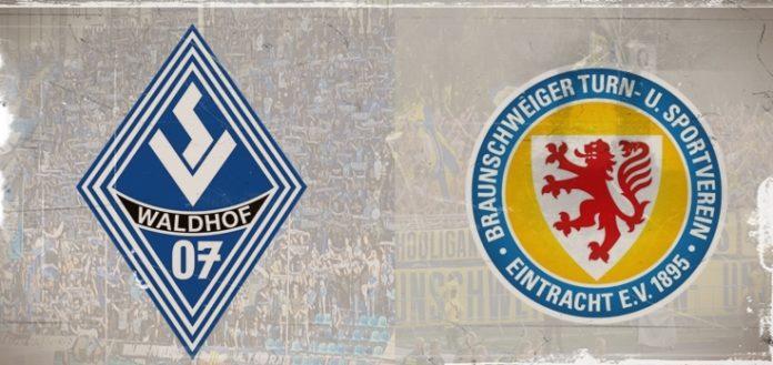 Fanmarsch Waldhof Mannheim - Eintracht Braunschweig