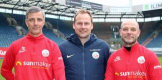 Hansa Rostock Jens Härtel und Ronny Thielemann